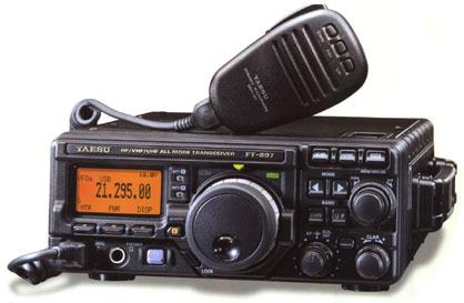 Yaesu FT 897 D