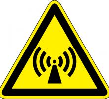 Symbol_Nichtionisierende_Strahlung