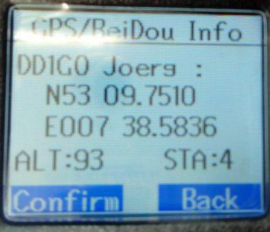 GPS mit RT8