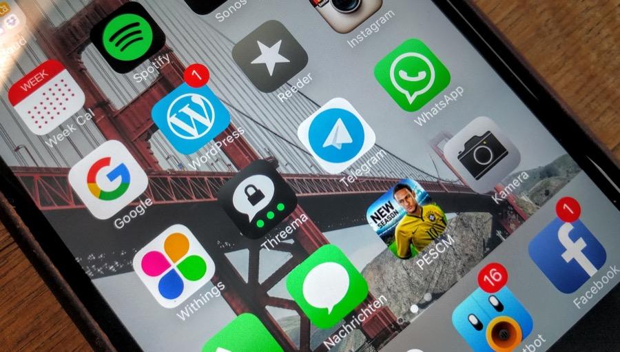 Messenger – Kommunikation mit dem Smartphone
