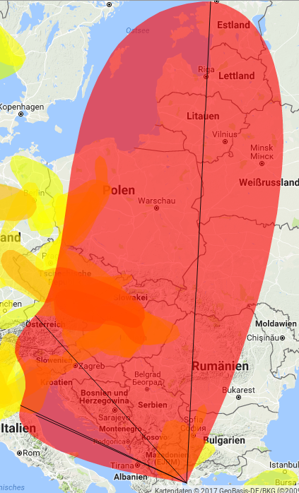 APRS als Prognose Tool für VHF benutzen