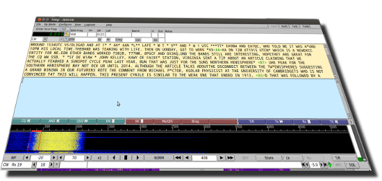 Fldigi ist in der neuen Version 4.0.1, Flarq in der Version 4.3.6 verfuegbar