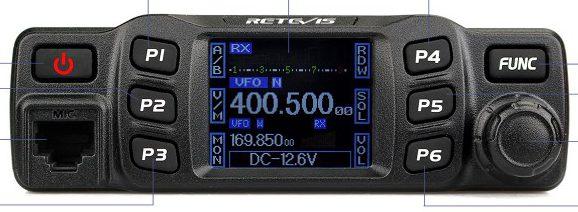 Retevis kündigt ihre Mobilgeräte an RT90 und RT95