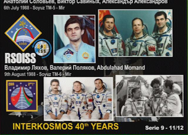 RS0ISS INTERKOSMOS 40 YEARS