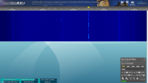 Web SDR in Bremen Clubstation DL0HT