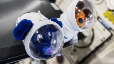 ISS-Schulfunkkontakt an der IGS-OHZ
