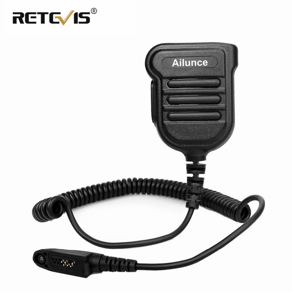 Ailunce HD1 Schulterlautsprecher Mikrofon IP55 Wasserdicht