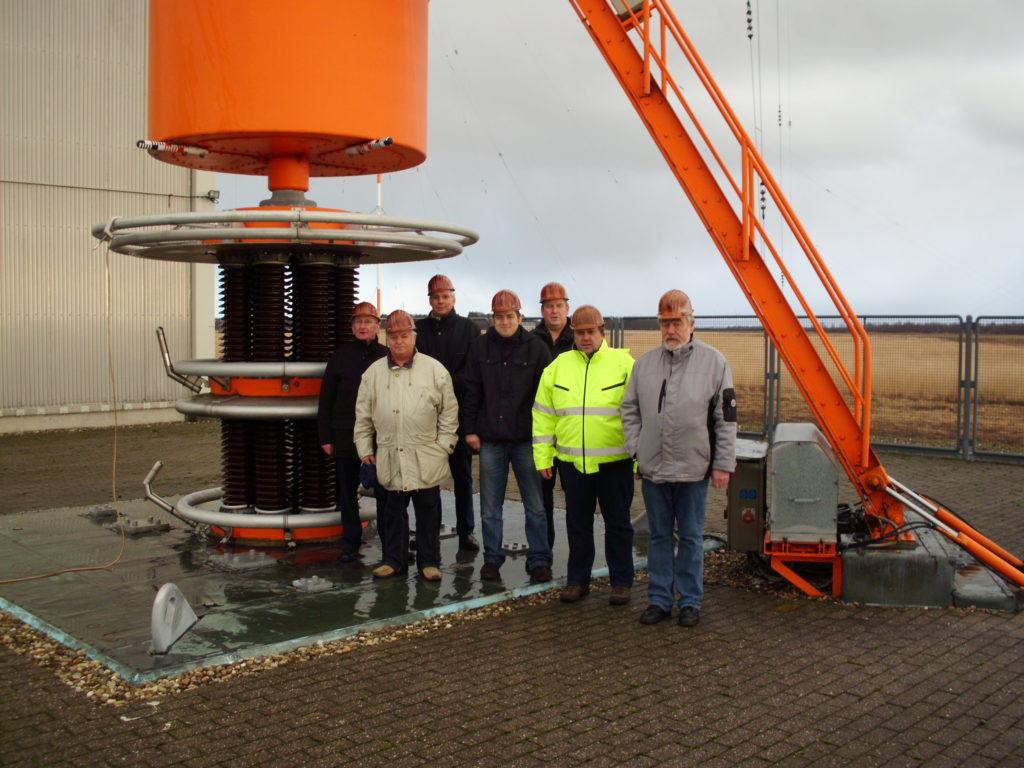 Z31 zu Besuch beim Längstwellensender Ramsloh 2012