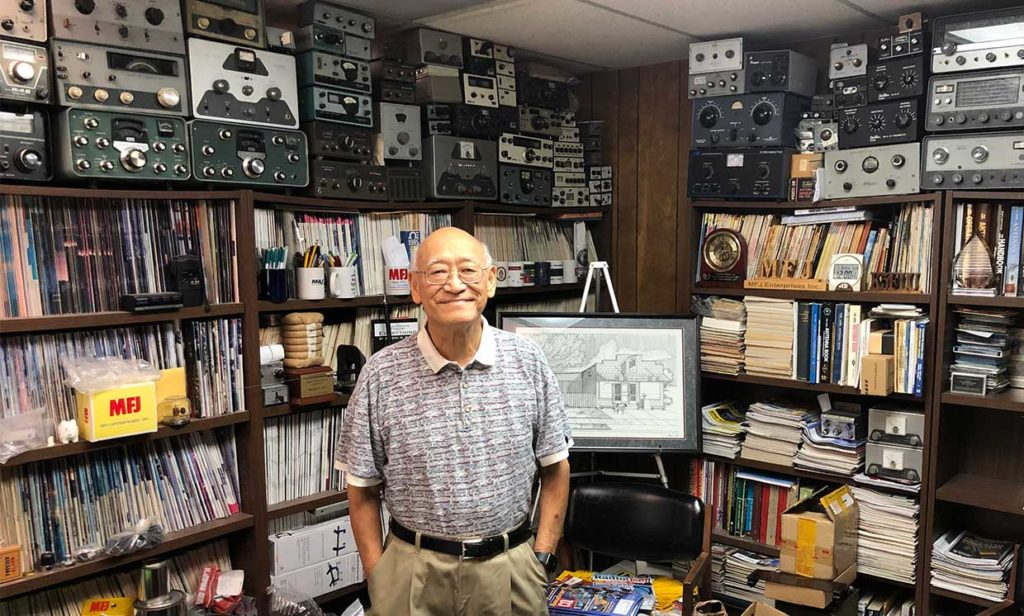 Photo: Richard Stubbs Martin F. Jue (K5FLU), founder of well-known radio accessories maker MFJ, is developing new products to accommodate the shift towards digital radio communications in the amateur bands.