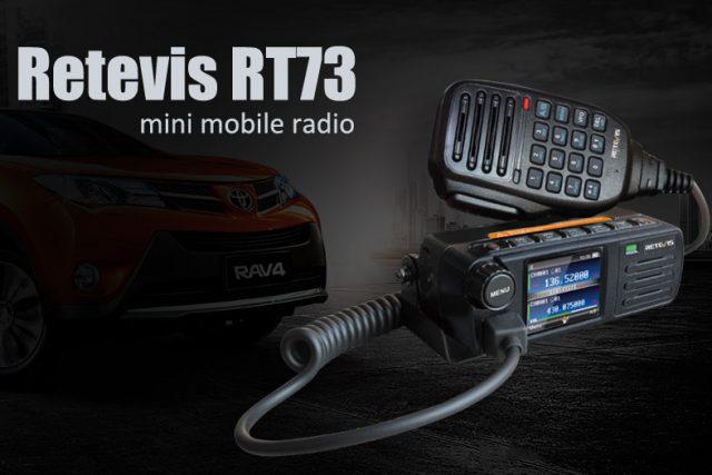 Retevis RT73 Mobilfunk mit DMR