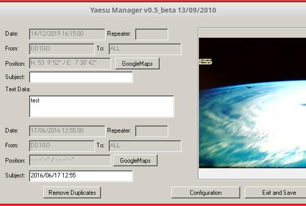Yaesu SD Card Manager